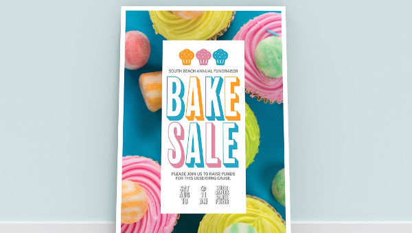 18 Bake Sale Flyer Templates Adobe Photoshop Illustrator Downloads