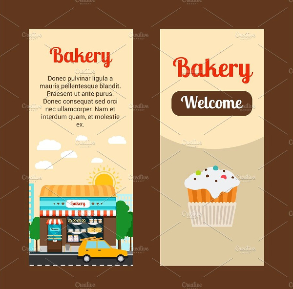 Bakery House Flyers Template
