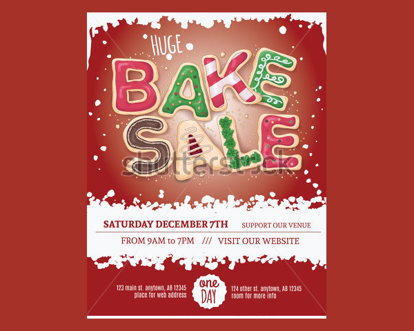 Baking Stores Flyer Template
