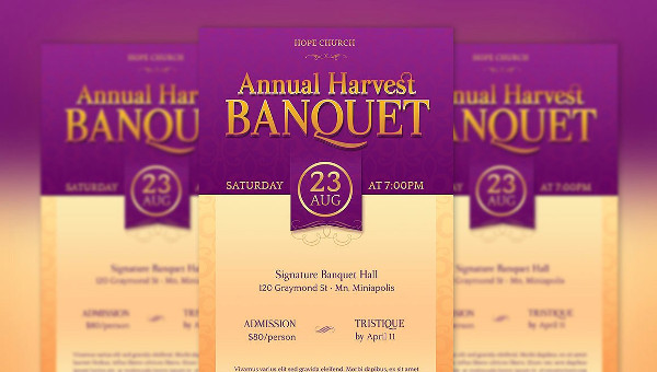 14 banquet flyer template free premium psd eps ai downloads