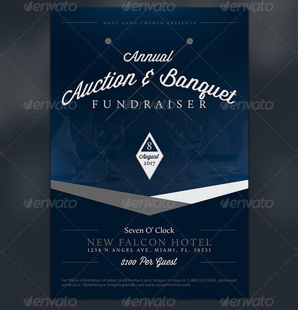 Banquet Fundraiser Flyer