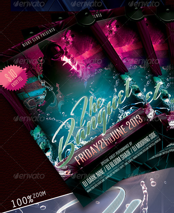 Banquet Party Flyer Template