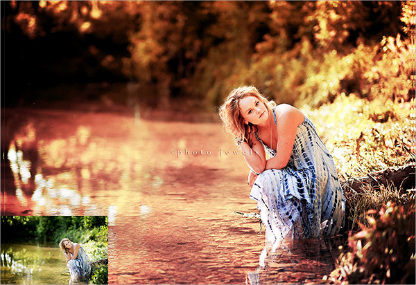 Beautiful Summer Evening Photoshop Actions