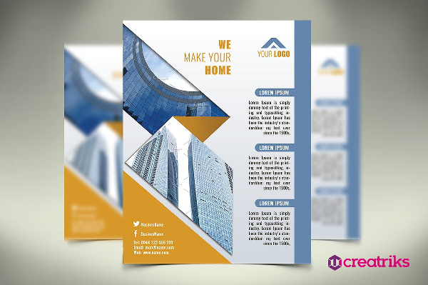Best Architectural Flyer Template
