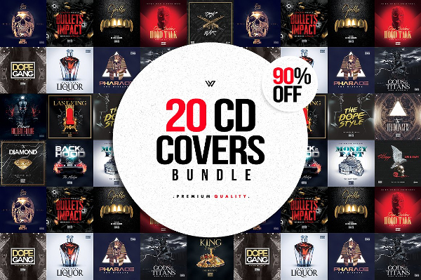 Best CD Cover Templates