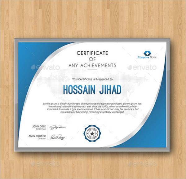 Best Online Certificate Design Template
