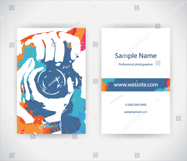 Best Business Card For Photographer
