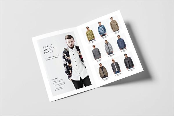 Bifold Fashion Brochure Designs