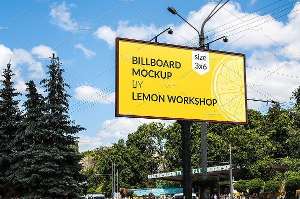 Billboard Mockup For Advertising