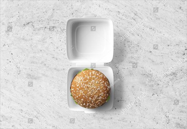Burger Packaging Mockup