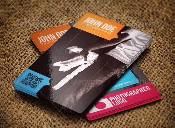 Business Card Template For Photographer