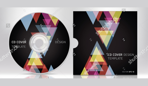 CD Cover Vector Design Template