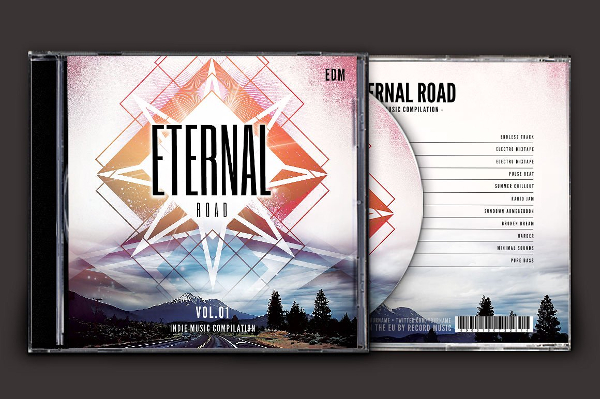 CD Covers Template Bundle