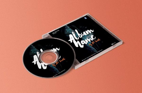 Cd Album Cover Template