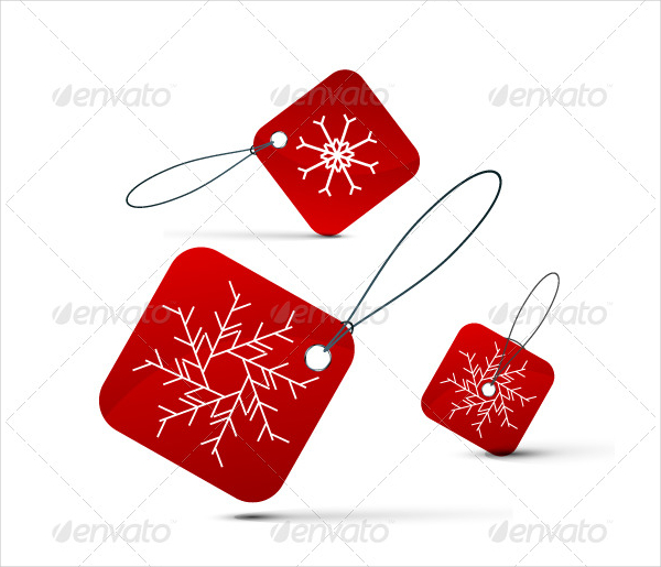 Christmas Labels Template