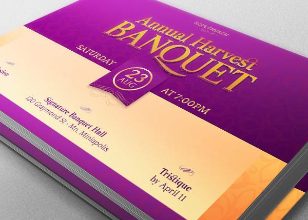 Church Banquet Template Bundle