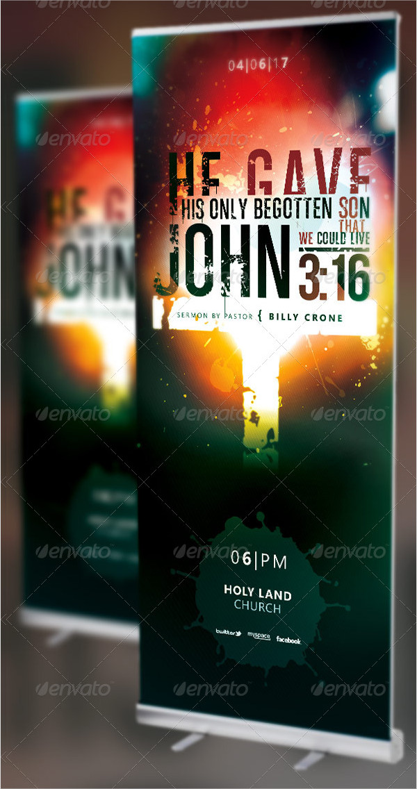 Church Concert Banner Templates