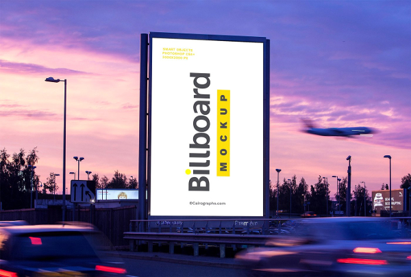 Clean Billboards Mockups