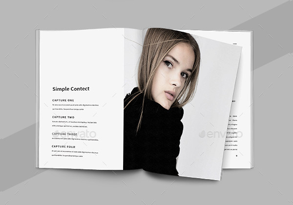 Clean Fashion Brochures Template
