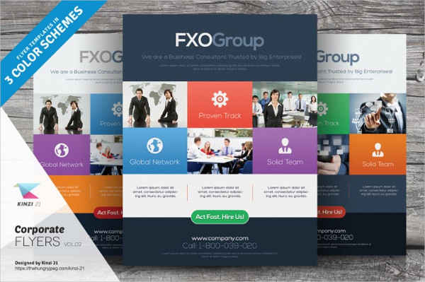 Corporate Agency Flyer Templates