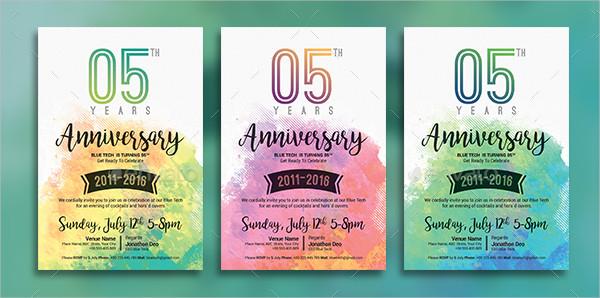 21 Anniversary Invitation Card Templates Free Premium Downloads