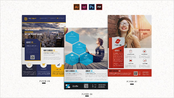 Corporate Clean Flyer Templates