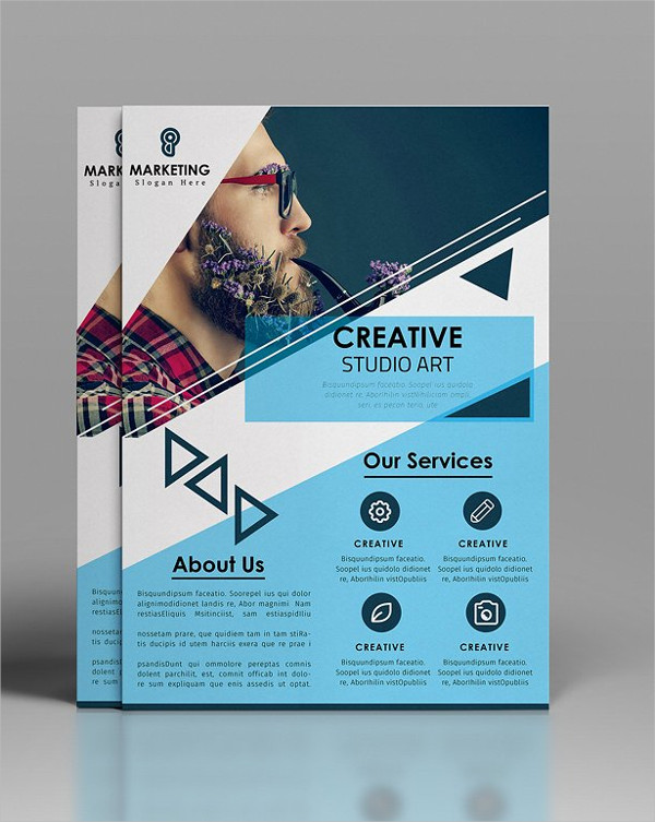 Corporate Cover Flyer Template