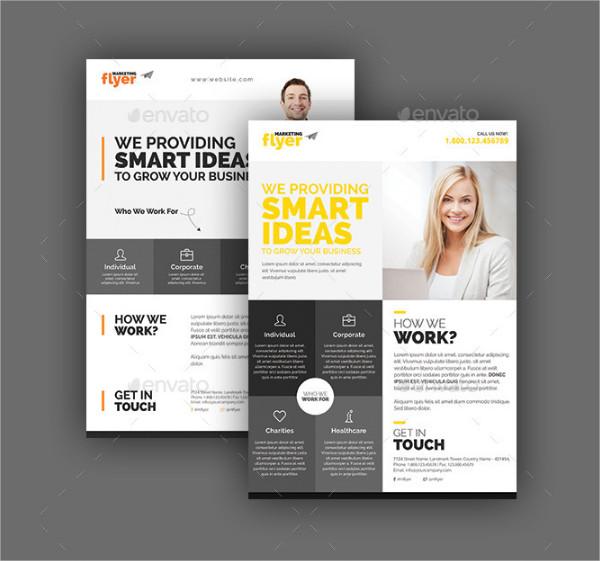 Corporate Marketing Flyer Templates