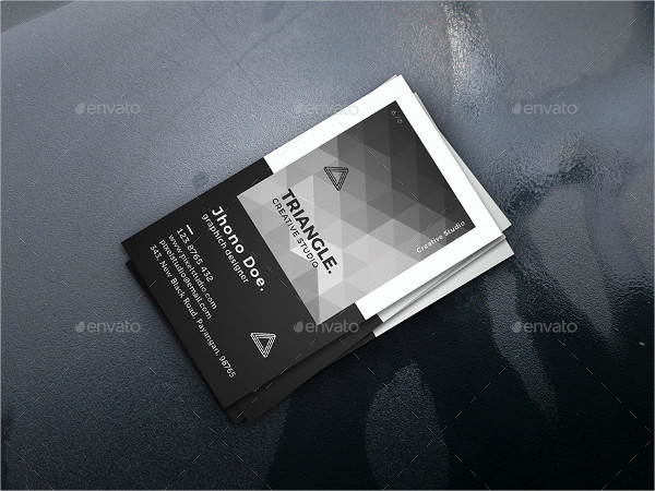Corporate Triangle Business Cards