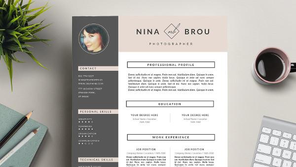 23+ Creative Resume Design - Free Examples, PDF, DOC, PSD Formats