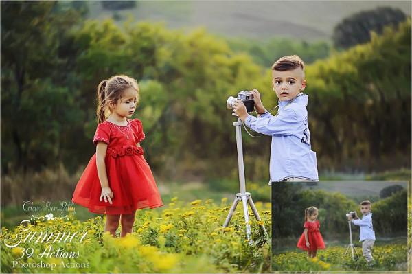 Creative Summer Photoshop Action