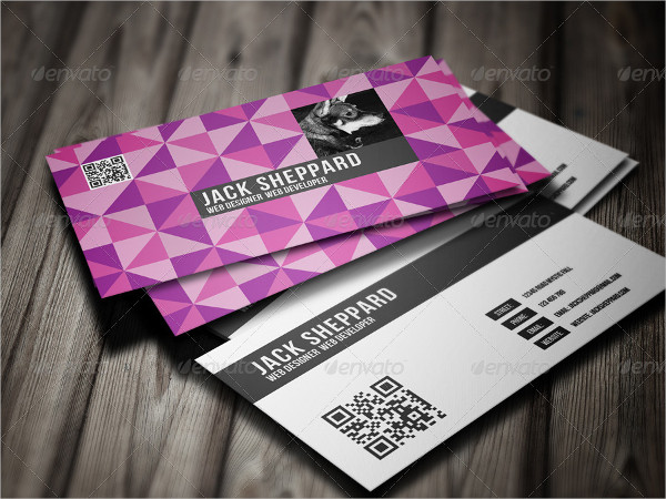 Creative Triangle Business Card Template