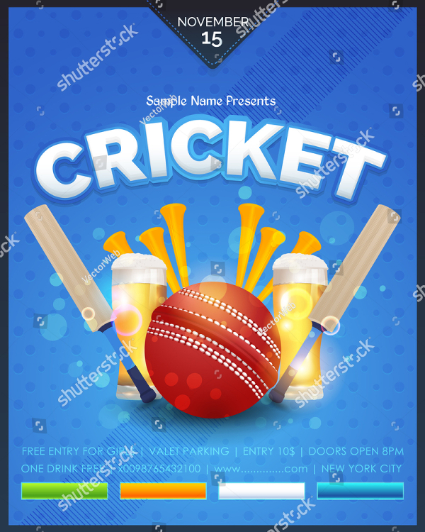 15 cricket flyer templates free premium psd vector eps downloads