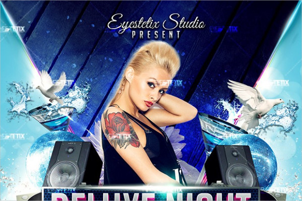 Deluxe Night Party Flyer Template