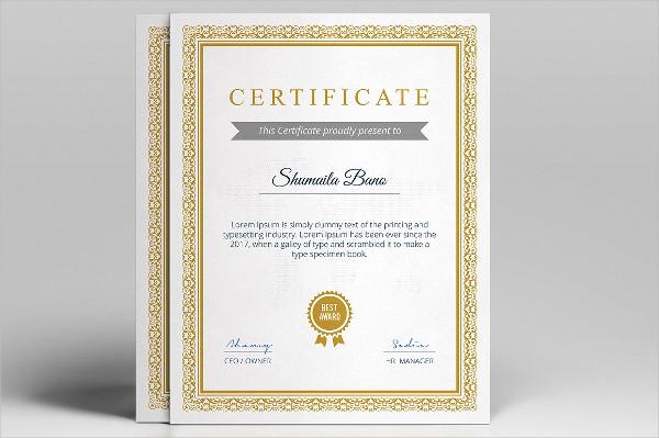 Diploma Certificate Design Templates