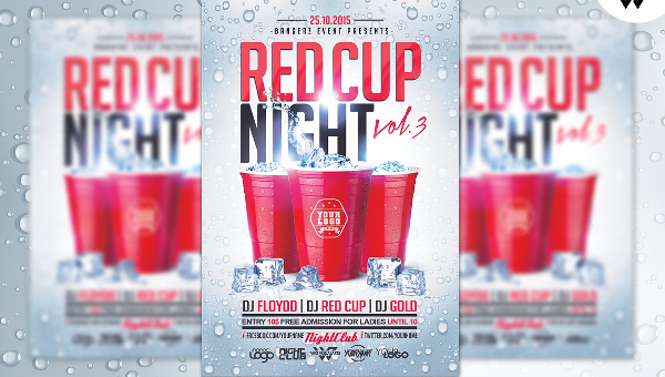 Drink Party Flyer Templates