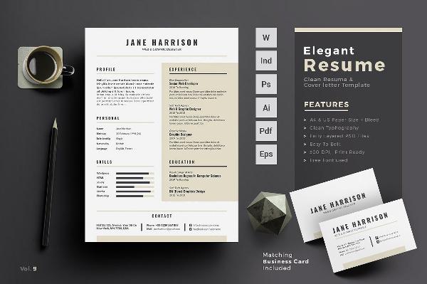 Editable Creative Resume Design