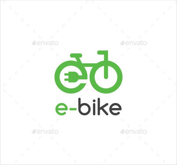 Electric Bike Logo Templates