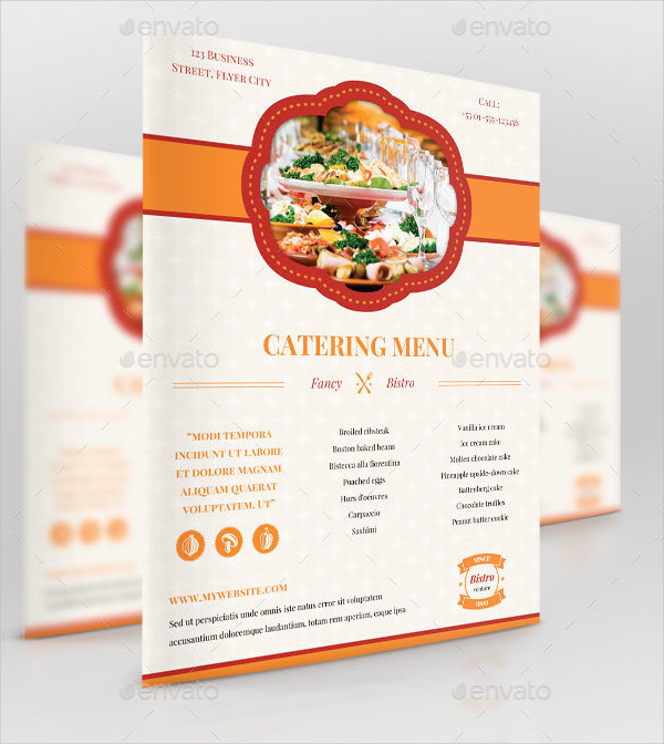 21 Catering Flyer Templates Free Premium Download