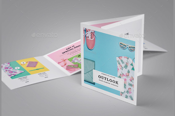 Fashion Marketing Brochure Template