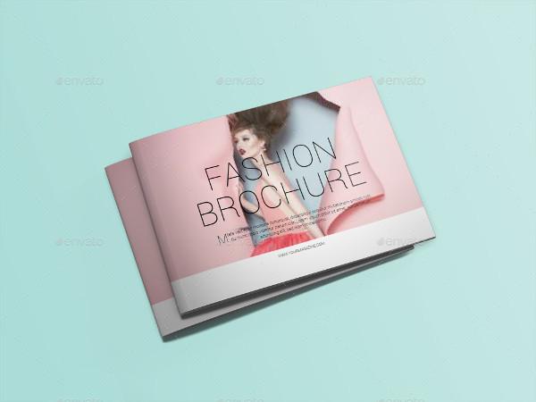 Fashion Photography Brochure Template Design
