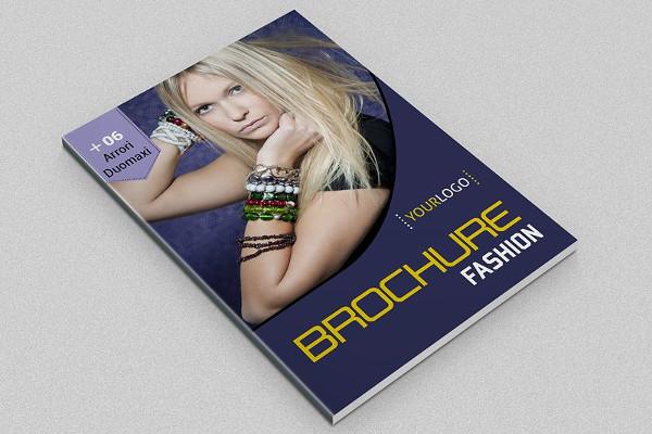 Print Fashion Brochure Design