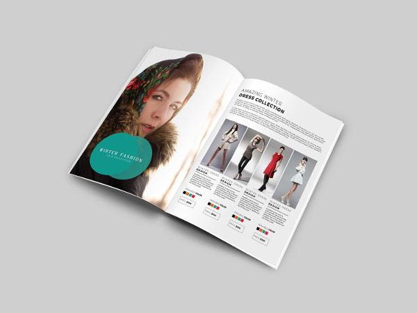 Product Fashion Brochure Template