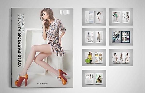 Proposal Fashion Brochure Template