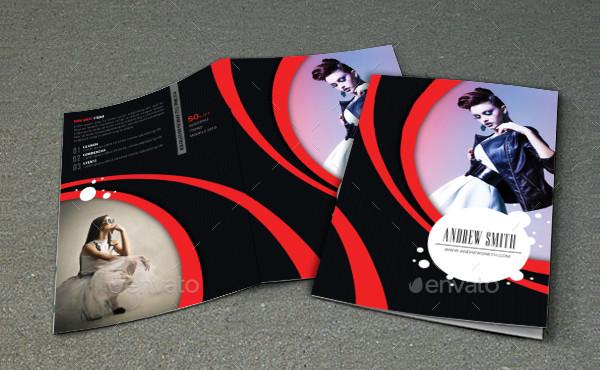 Fashion Vector Brochure Designs