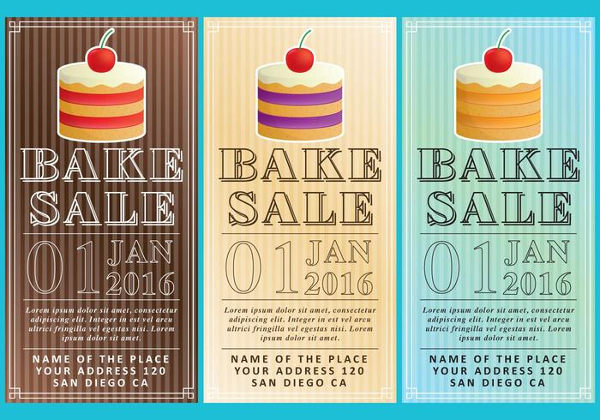 Free Bake Sale Flyers