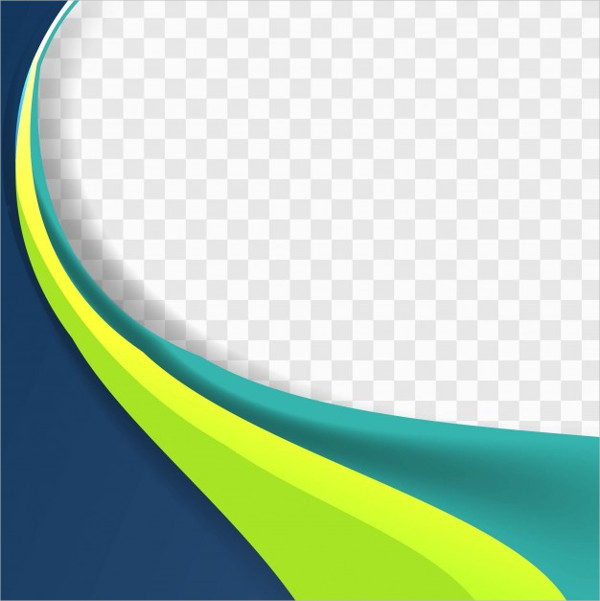 Free Download Blue And Green Wavy Background