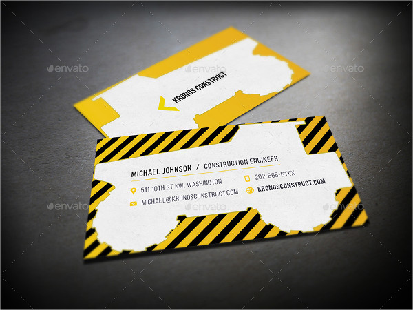 25 Construction Business Card Printable Psd Eps Downloads,Principles Of Design Pattern Images