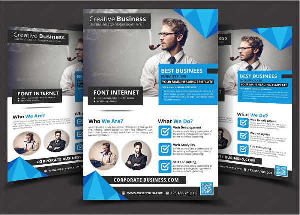 Fully Editable Corporate Flyer Template