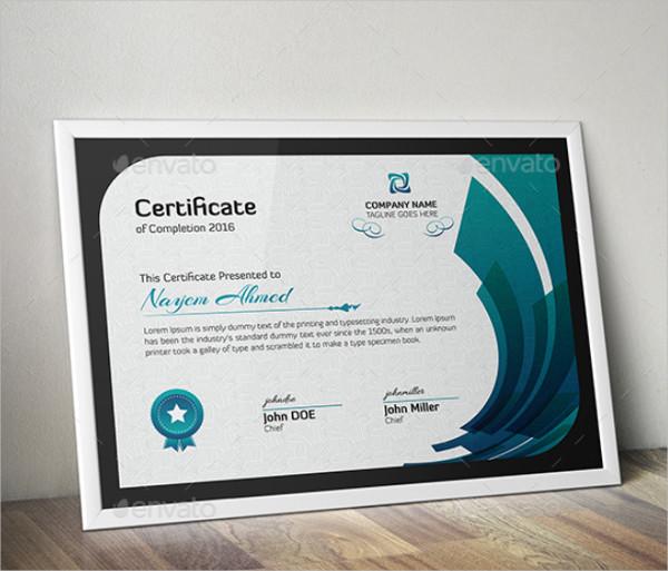 Gift Certificate Design Template
